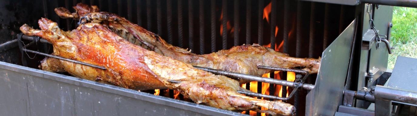 Beraní maso na rožni